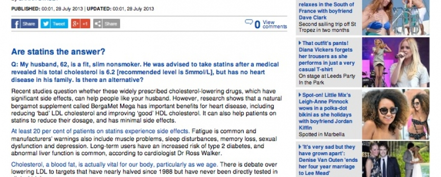 Health-All you Need to Know about Statins