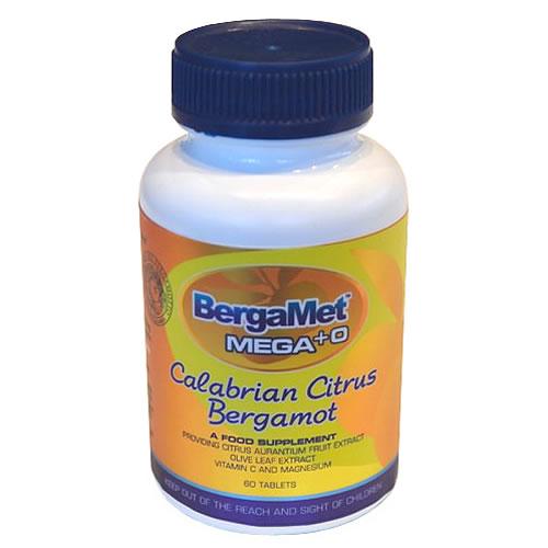 BergaMet Mega +O - Calabrian Citrus Bergamot 60 tablets