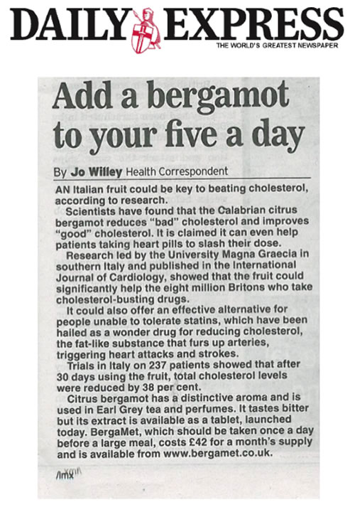 Add a bergamot to your five a day - Daily Express