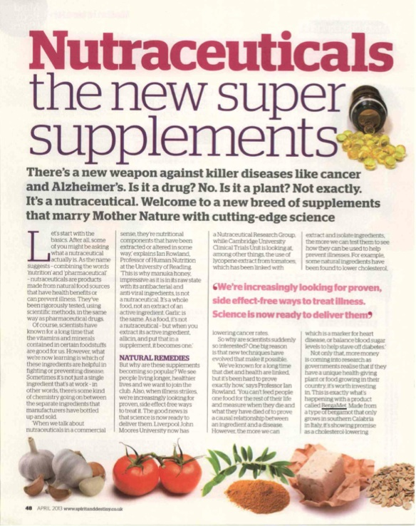 Nutraceuticals-the new super supplements